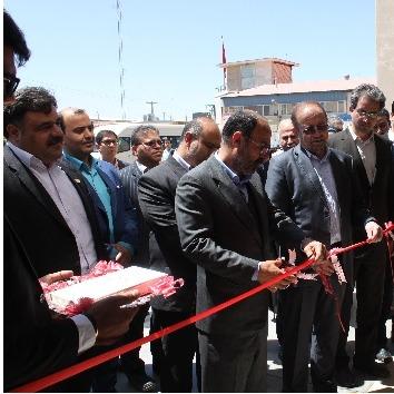 افتتاح رسمی کارخانه شیرضا توسط جناب آقای قبادیان معاون وزیر صنعت